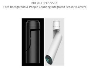BDI 2D-FRPCS-V5R2 Face Recognition & People Counting Integrated Sensor(Camera)